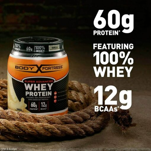 Body Fortress whey proteins